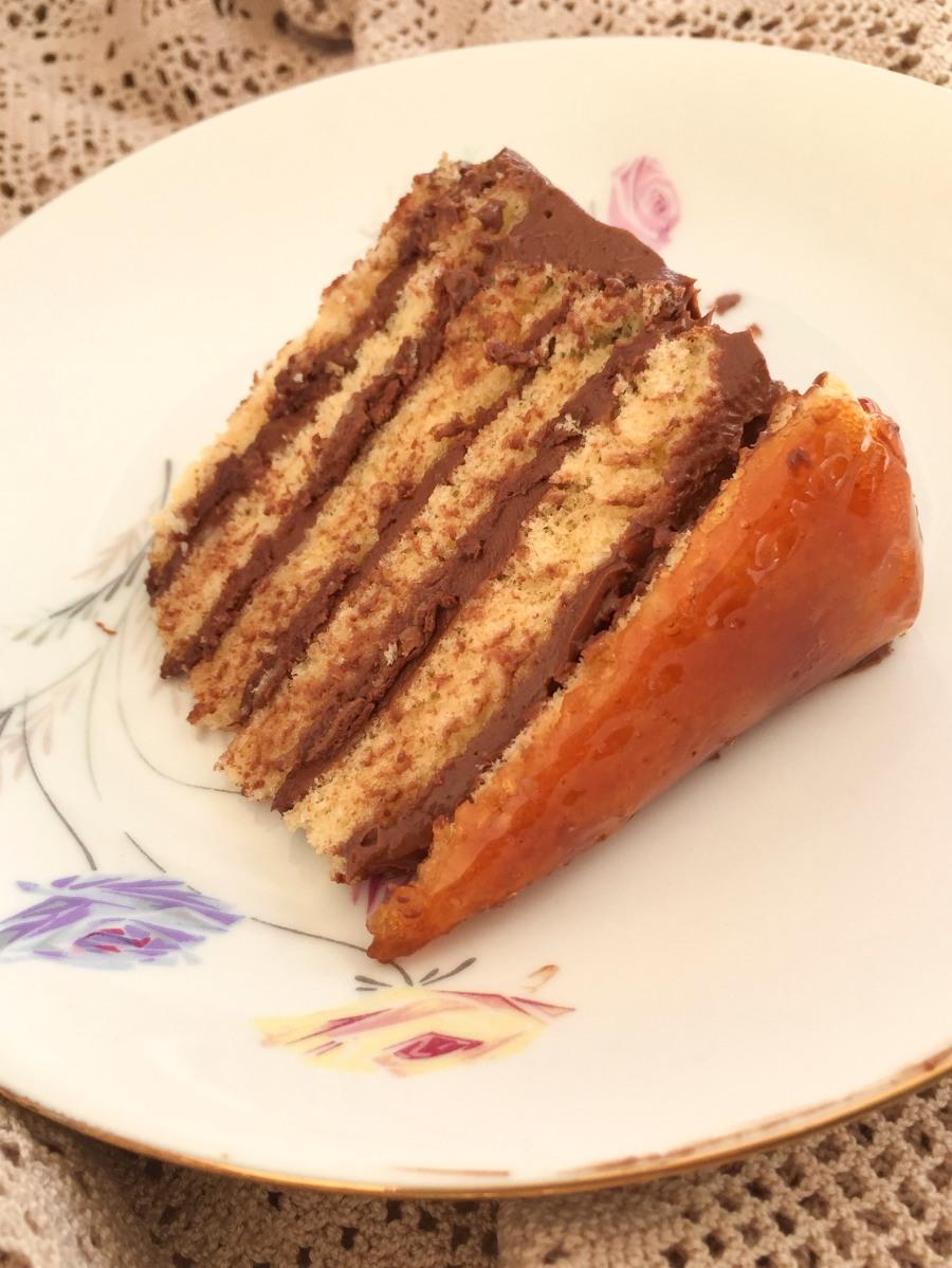 Dobos Cake/Bolo Dobos